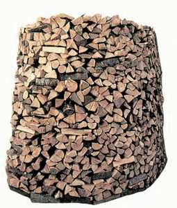 Provisión de madera.