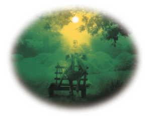16.En diciembre la tierra se duerme, y el caserio se cubre de niebla y silencios.