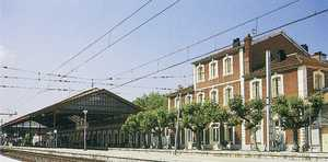 31. Donostia, the Northern Railway Station.