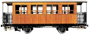 49. A 3rd class carriage from the Vasco-Navarro Railway.