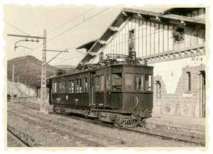 63. The Urola Railway. Zumaia station.