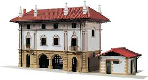 65. A model of Azkoitia station, by Javier Miguel Echeverria.