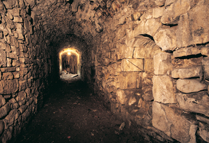 51. Olaberria forge, Legazpi, interior of the water tunnel.