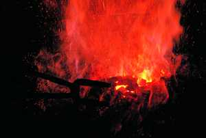 13. Fire at the Mirandaola Forge, Legazpi.