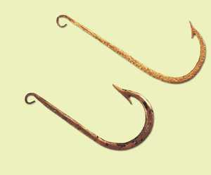 Bertan 17 the roman era chapter 7 fishing and fish for Parts of a fish hook
