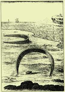 150. Fish weirs as depicted by Moreno and Abad (1971).© Moreno eta  Abad ( 1971 ), Xabi Otero