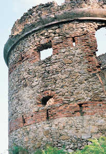 127. Pika Tower (Irun). The tower was originally covered in plaster, concealing the ordinary masonry and brick.© Juan Antonio Sáez
