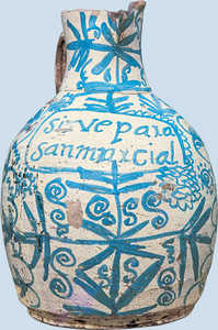 121. Jug used in San Marcial chapel, Antzuola.© Enrike Ibabe
