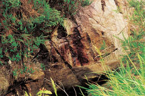 154. Metalworking relied on the existence of outcrops of mineral ore.© Lamia